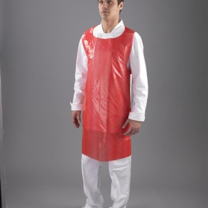 Apron red standard