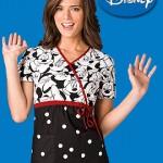 6625 Big Minnie Wrap Top