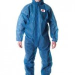3M 4500 Disposable Coverall Blue